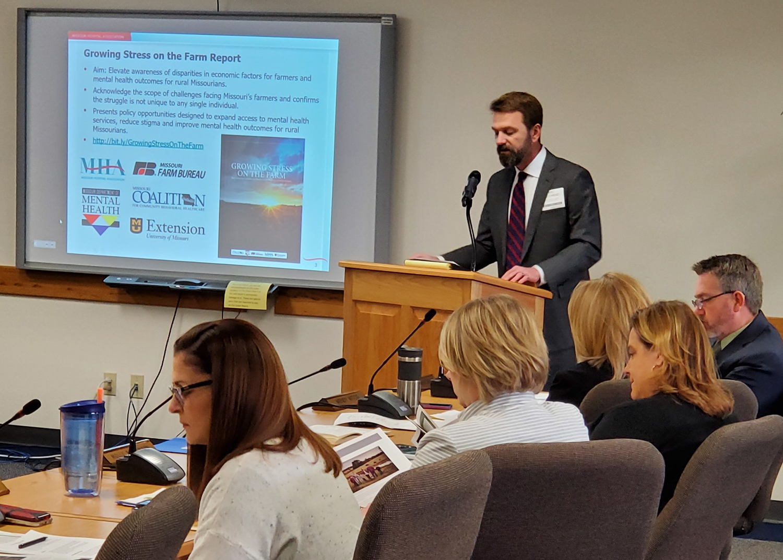 Mat Reidhead presents to Missouri DMH