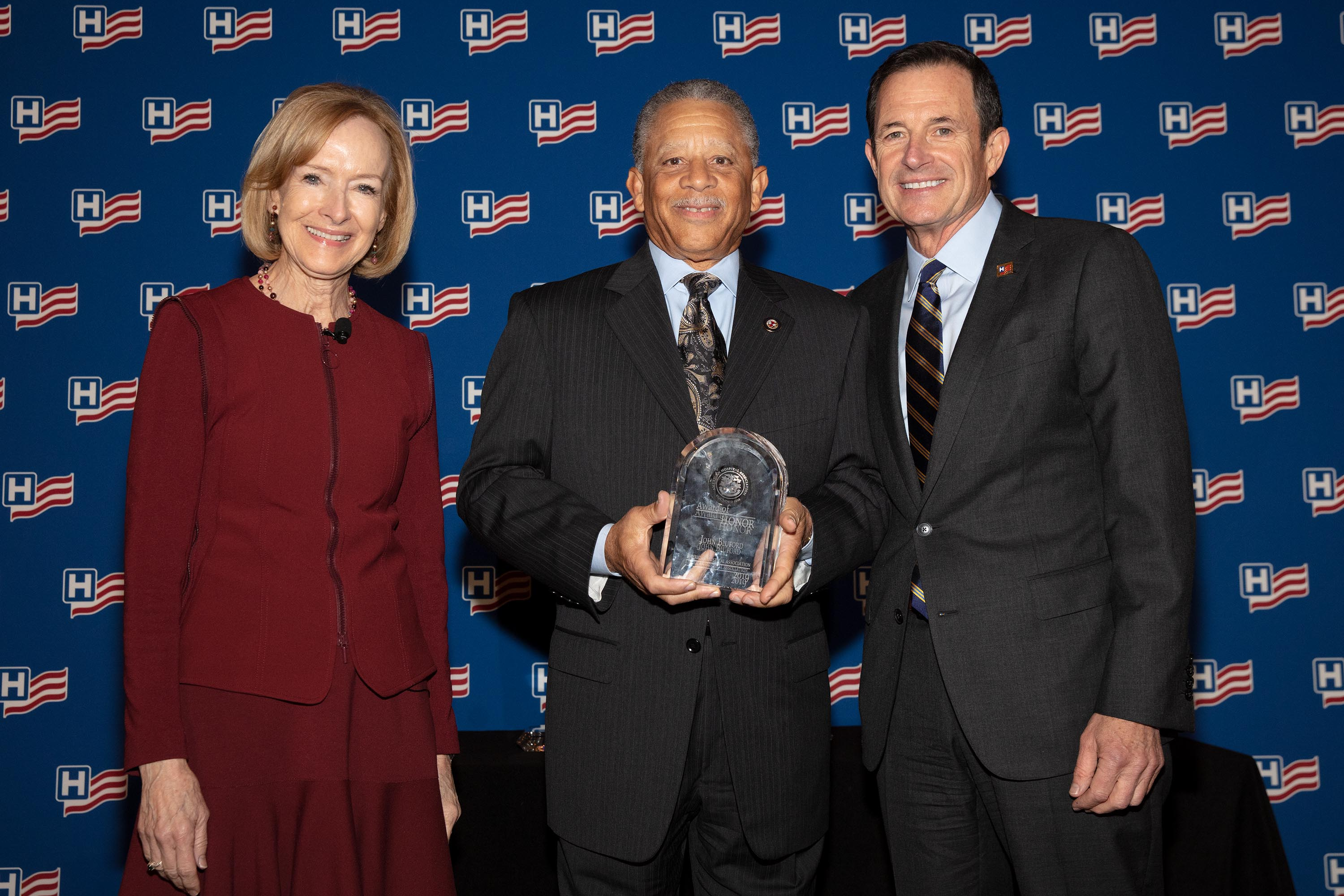 John W. Bluford, III - AHA Award
